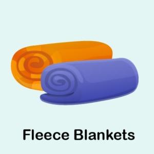 2 Fleece Blankets