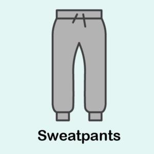 5 Pairs of sweatpants